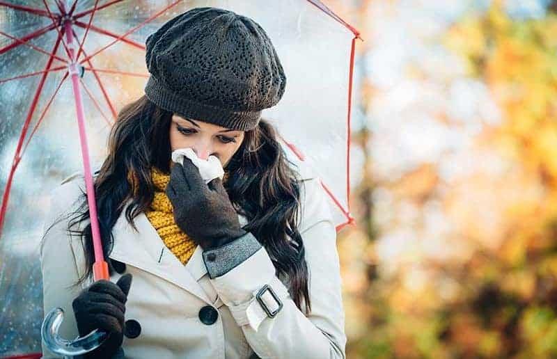 Алергии през есента
